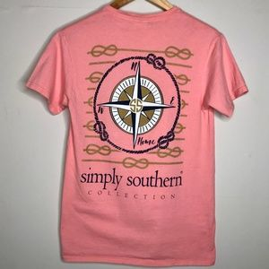 Simply Southern Nautical Compass T-Shirt